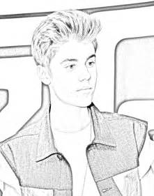 justin bieber coloring pages justin bieber printable coloring pages