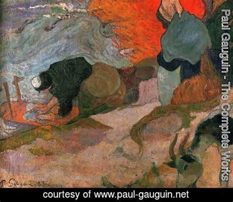 paul gauguin a complete 0340552220 paul gauguin the complete works washerwomen paul gauguin net