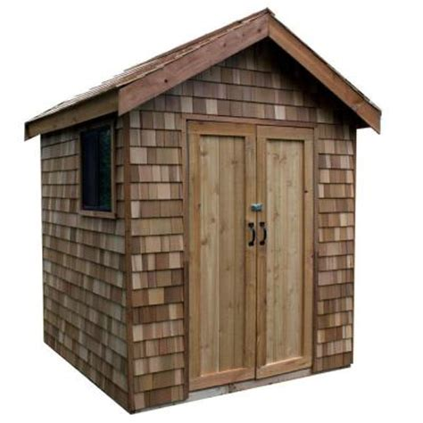 Home Depot 8x8 Shed by Greenstone 8 Ft X 8 Ft Ez Build Shed Kit With Prefab
