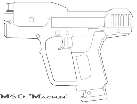 m6g magnum halo 3 halo reach by bcmatsuyama on deviantart