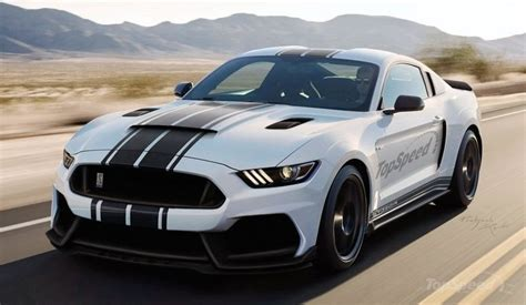 rendering shelby mustang gt350r