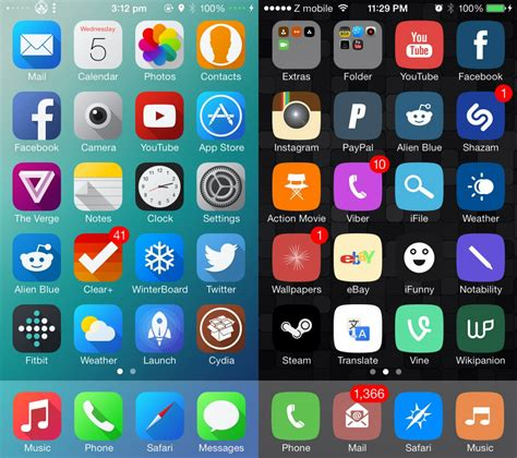 top black themes cydia top 6 free winterboard themes from cydia you must try on