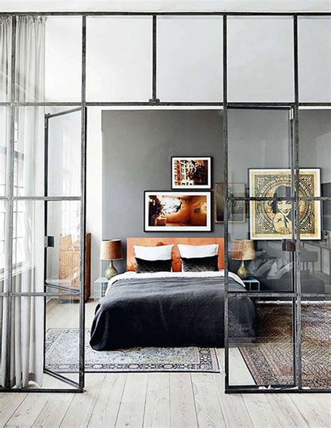 glass bedroom the glass divider for your space home design and interior