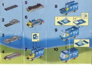 Stud Io Building Instructions Lego Mobile Tv Studio Instructions 6661 City