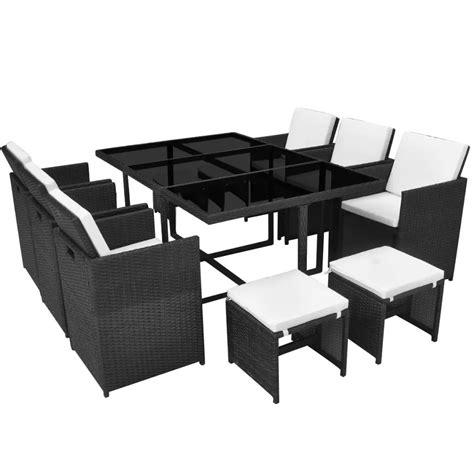set tavolo e sedie rattan articoli per vidaxl set tavolo e sedie da pranzo per