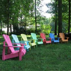 colored adirondack chairs weathercraft designers choice painted adirondack chair
