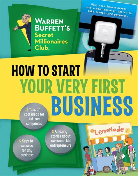 how to start your very first business book by the
