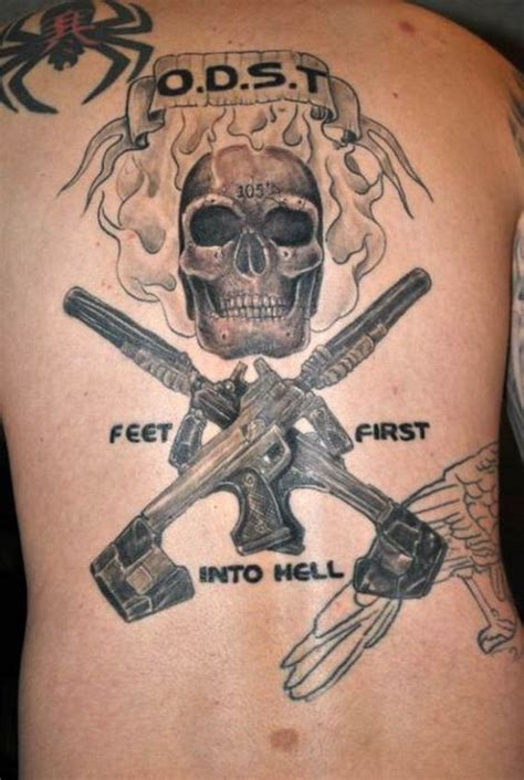 halo tattoos tattoos of halo fans barnorama