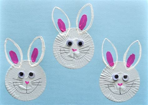easter bunny craft projects easter bunny cupcake liner crafts extralarge800 id 867504