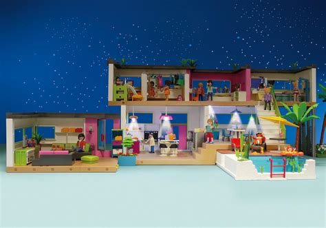 play mobile maison moderne 5574 playmobil 174