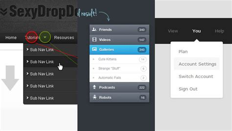design drop down menu html drop down menu 20 helpful tutorial to create menu with