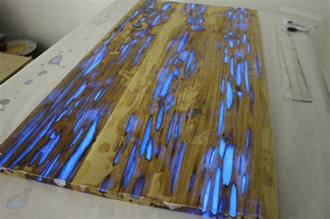 glow in the table learn how to make glow in the table with