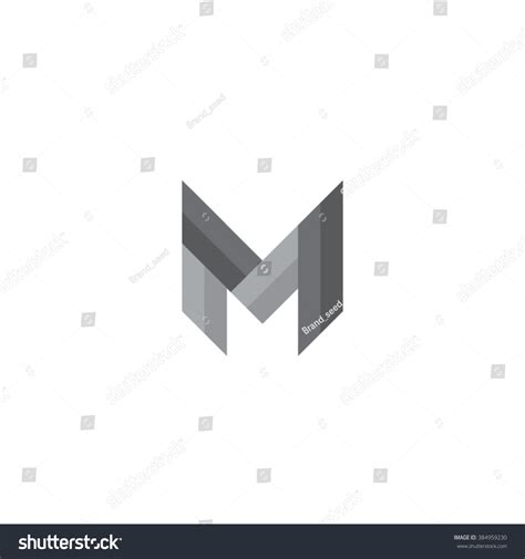 Memo Template Vector M Letter Symbol M Letter Icon Stock Vector 384959230