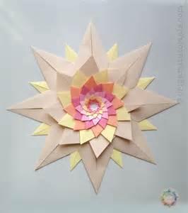 Unique Origami - origami venetian stella veneziana origami tutorials