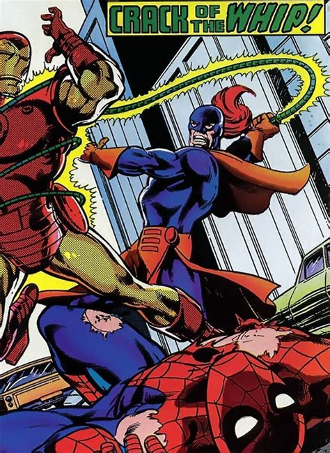 whiplash iron man enemy marvel comics mark scarlotti