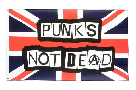 Is Not Dead buy punks not dead flag 3x5 ft 90x150 cm royal flags