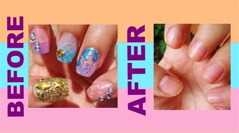 how to remove acrylic nails fast and easy at your home