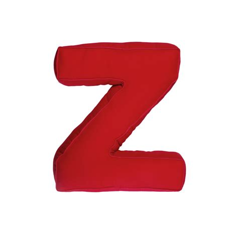 Letter Z fabric letter z