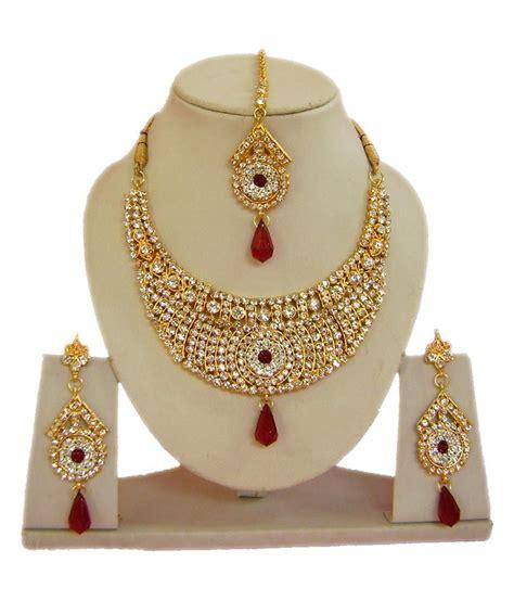 Tika Marun narbh india bridal maroon alloy maang tika sets buy narbh