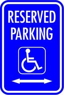 handicap parking sign template printable handicap parking signs cliparts co