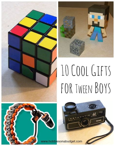 10 cool gifts for tween boys a compass boys and bracelets