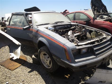 the junkyard junkyard find 1979 ford mustang quot indy 500 pace car edition quot the about cars