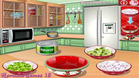 juegos de cocinar con sara comida de navidad comida de navidad cocina con sara youtube