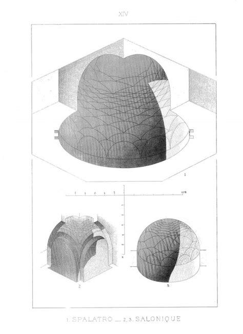 L'architecture en perspective axonométrique plafonnante