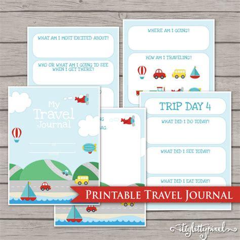 printable vacation journal free printable road trip games