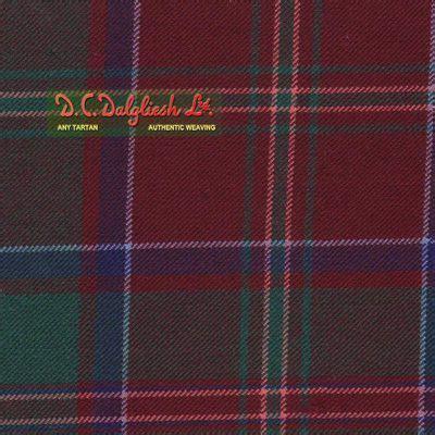 macdonald of glencoe muted tartan