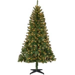 Holiday time pre lit 6 5 madison pine artificial christmas tree