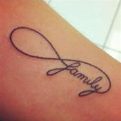 family infinity tattoo love it tats pinterest
