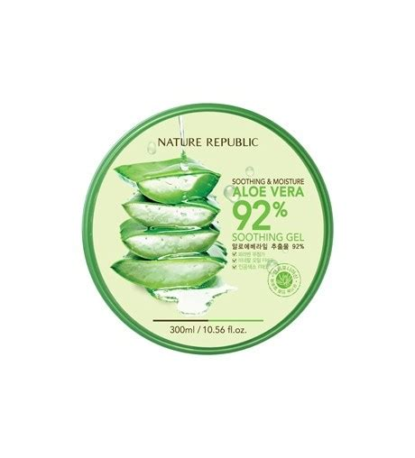 Nature Republic Aloe Vera Soothing Gel Korea nature republic aloe vera soothing gel