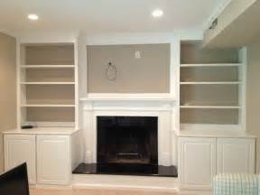 Painting Built In Bookcases Fireplace Mantel And Bookshelves American Hwy