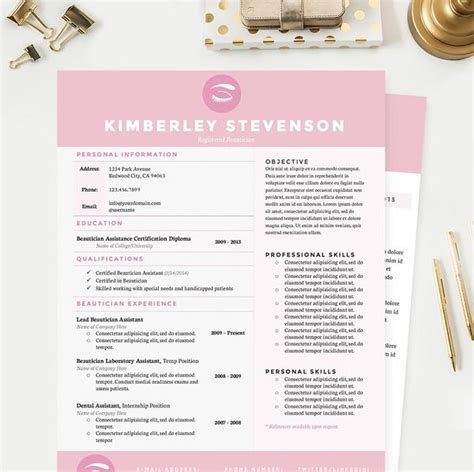 8 best cv images on pinterest cv template resume templates and