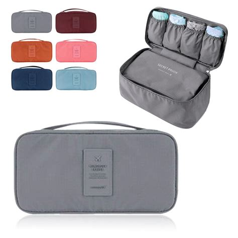 Travel Bags In Pouch Pocket Push Bra Bag Organizer useful waterproof organizer bag pouch travel trip luggage bra handbag storage
