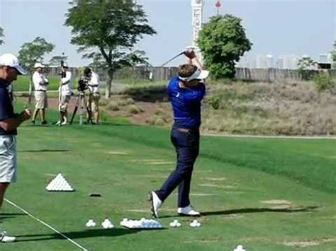 luke donald iron swing luke donald slow motion golf swing iron fo 2011 dfisio