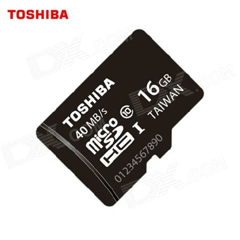 Toshiba Microsdhc Class 10 16 Gb toshiba sd c016gr7ar30 microsdhc memory card black