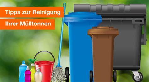 muelltonnenreinigung tipps und tricks berlin recycling