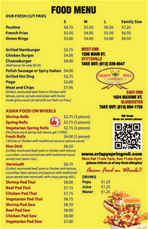coq a doodle do food truck menu food truck menu ideas 03 business cuisines
