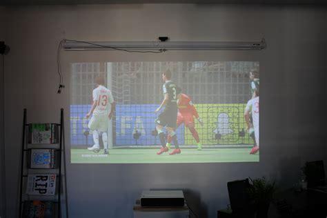 Proyektor Xiaomi xiaomi mi laser projector test china home cinema with wow