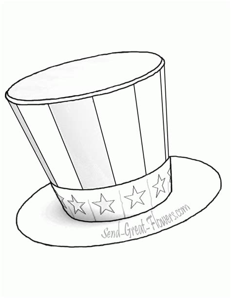coloring page top hat top hat coloring page coloring home