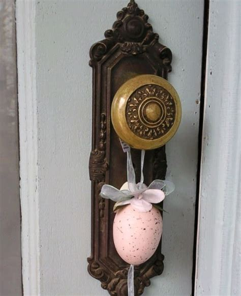 Hanging On Door Knob by Cottage Of Sweet Things To Hang On A Door