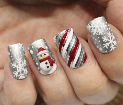 Easy Winter Nail Designs For Nails