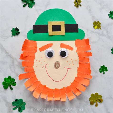 Leprechaun Paper Craft - leprechaun craft i crafty things