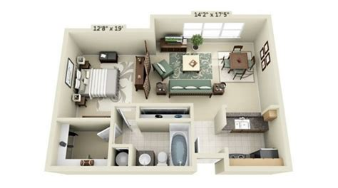 small studio floor plans 50 studio type single room house lay out and interior design