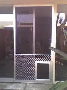 Patio Door Screen Replacement Patio Screen Door Pet Protector Screen Doors