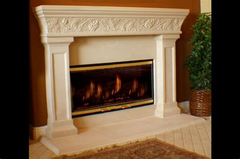 Cast Fireplace Mantels And Surrounds by Home With Cast Fireplace Surround
