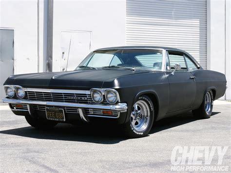 chevy impala 1965 chevy impala ss baer brakes super chevy magazine