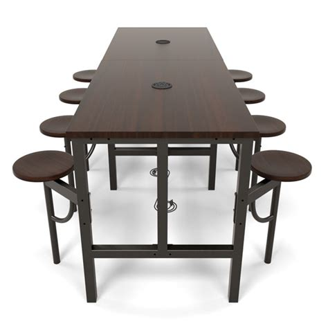 Standing Meeting Table Standing Conference Table Team Collaborative Standing Height Meeting Table